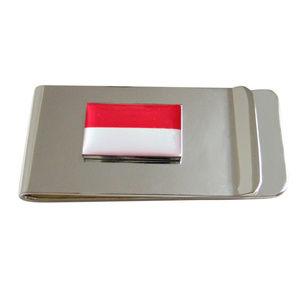 Indonesia Flag Pendant Money Clip